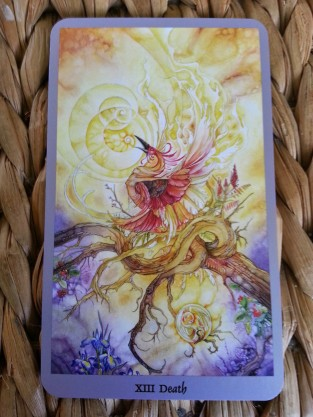 From Shadowscapes Tarot deck - different decks evoke our intuition in varied ways