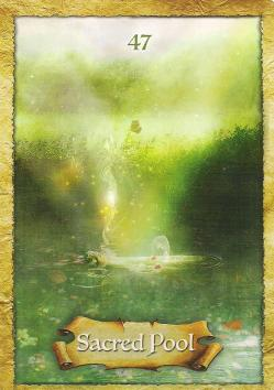 From the Enchanted Map Oracle deck - the images stir something inside of us.