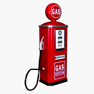 Pull up to the pump for a fill up of your internal gas tank!