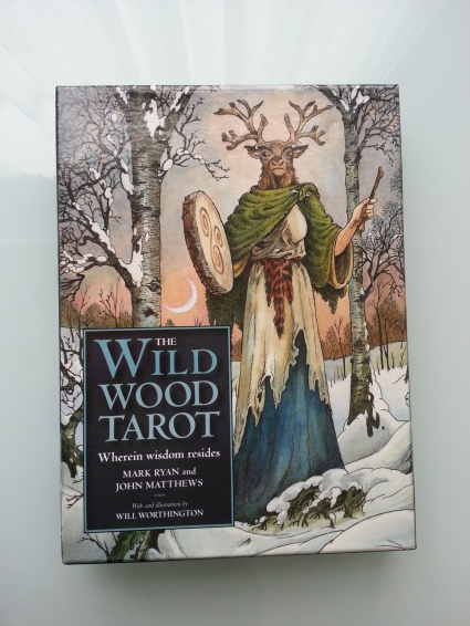 The Wildwood Tarot - based on pre-Christian mythology of the British Isles