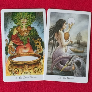 Images of the Divine Feminine from the Wildwood Tarot